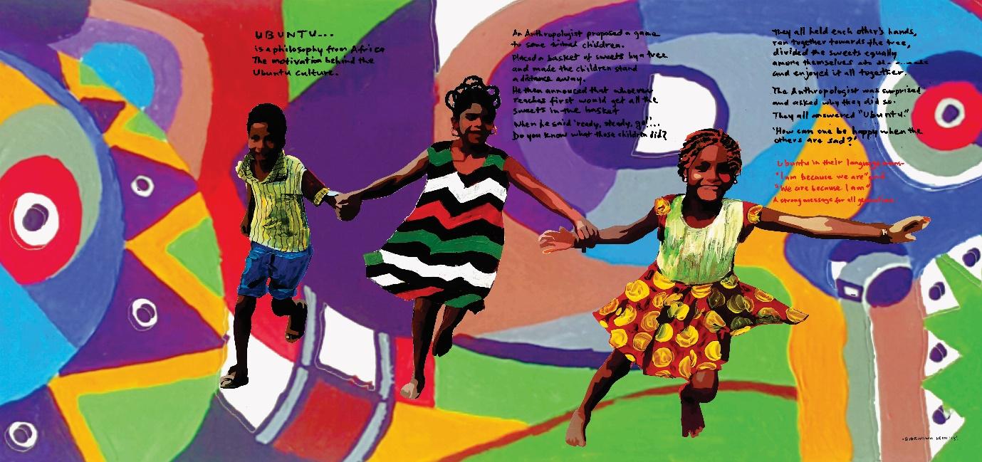 'Ubuntu' by Ghariokwu Lemi '18